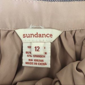 Sundance Skirts - Sundance Blue Lace Knee Length Midi Skirt 12